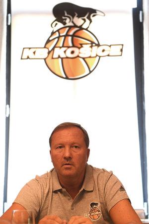 Na snímke prezident klubu František Sabol.