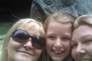 So svojou rodinkou. Klára (vľavo) so svojou dcérou avnučkou.
