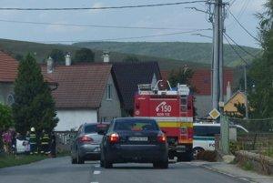 Nehoda v Sobotišti.