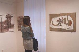 Miroslav Cipár v Turčianskej galérii.