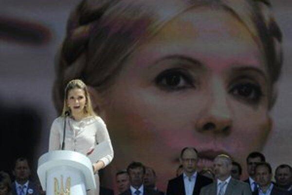 Kampaň za prepustenie Tymošenkovej vedie jej dcéra Jevgenija.