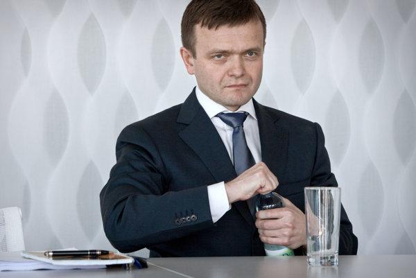Skupina Penta je minoritným vlastníkom vydavateľa denníka SME. Na snímke spolumajiteľ Penty Jaroslav Haščák.