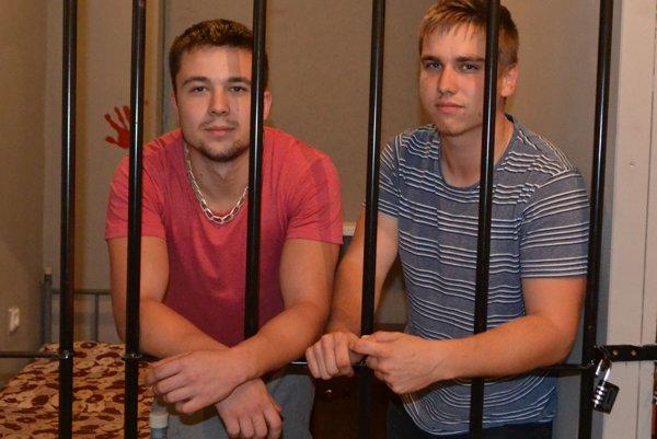 Lučenčania Peťo a Maťo si vyskúšali útek z väzenia.