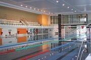 Interiér najkrajšej verejnej plavárne na Slovensku.