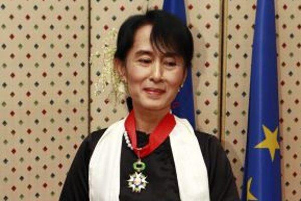Aun San Su Ťij.