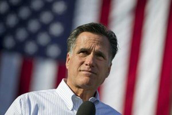 Republikánom by mohol nový zákon vyhovovať. Na snímke kandidát Mitt Romney.