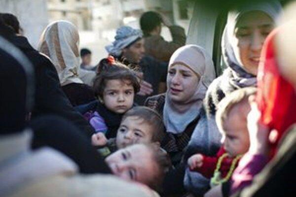 Do Turecka uteká čoraz viac Sýrčanov.