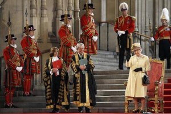 Prejav kráľovnej bol súčasťou tohtoročných osláv jej Diamantového jubilea.