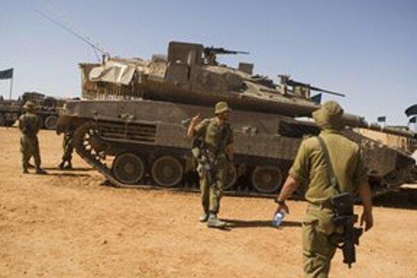 Cvičenie izraelskej armády.