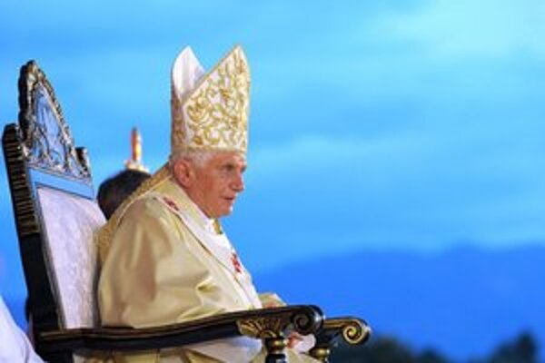 Benedikt XVI. na návšteve Kuby.