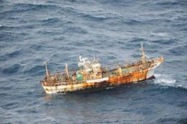 Japonská loď.