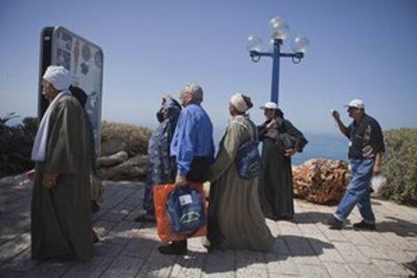 Do Izraelu prišli po rokoch aj egpytskí kopti.
