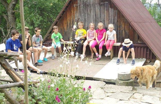 Pre deti sú prázdniny na marikovských lazoch veľkým zážitkom.