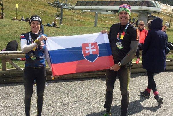 Košičania Andrea Gulová a Juraj Mikula na seba narazili až na parkovisku po pretekoch.