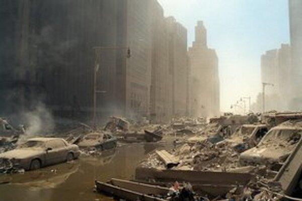 Manhattan po zrútení dvojičiek.