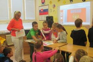 Deň európskych jazykov na Školskej ulici v Holíči.