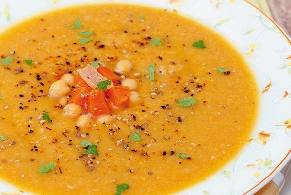 Cícerovo-zemiaková polievka