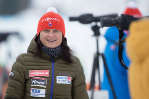 Trénerka ženskej biatlonovej reprezentácie Anna Murínová.
