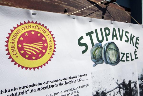 Logo chráneného označenia pôvodu.