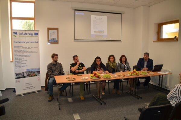 OZ Medza prezentovala projekt na tlačovej besede.