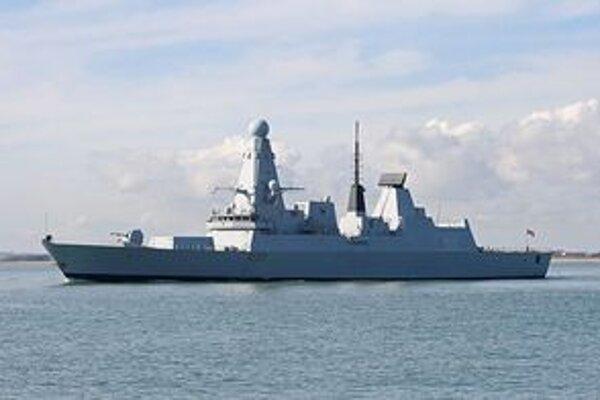 HMS Daring.