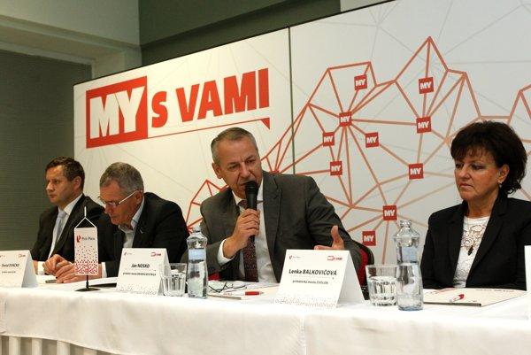 Ján Nosko na diskusii k doprave.