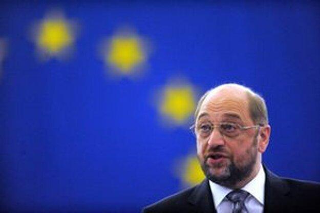 Odchádzajúci predseda Európskeho parlamentu Martin Schulz.
