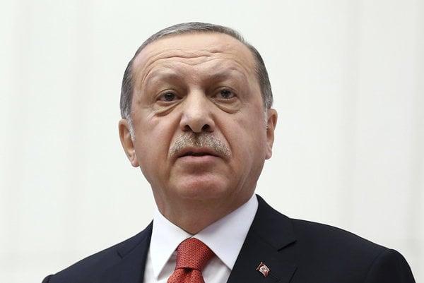 Turecký prezident Recep Erdogan.