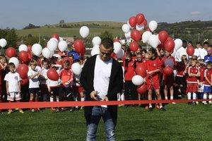 Stanislav Lobotka otvoril v Trenčíne futbalovú akadémiu.