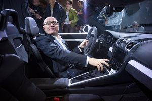 Predseda predstavenstva Škody Auto Bernhard Maier.