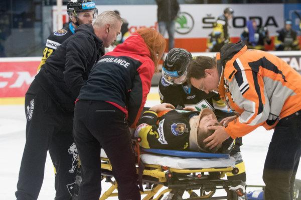 Martina Vyskoča museli previesť do nemocnice