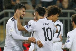 Nemecko vyhralo všetky zápasy kvalifikácie na MS 2018.