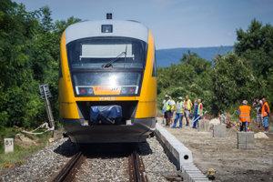 Vlak RegioJetu.