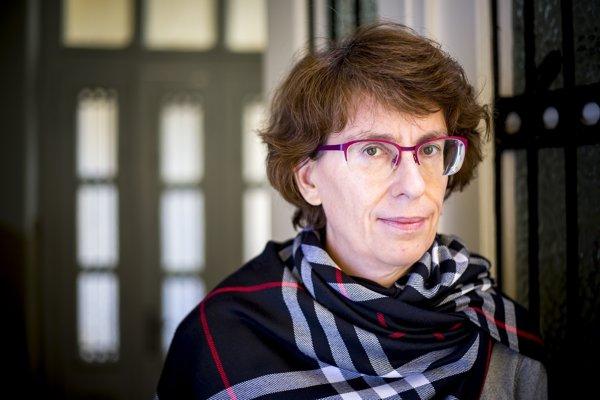 Zuzana Mistríková. Kedysi líderka študentského hnutia, dnes producentka filmu Mečiar.