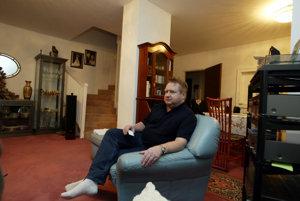 Podnikateľ Karol Martinka vo svojom dome vo Viedni v roku 2004.