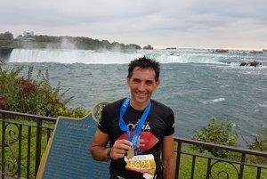 Ladislav Sventek ovládol aj preteky okolo Niagarských vodopádov.