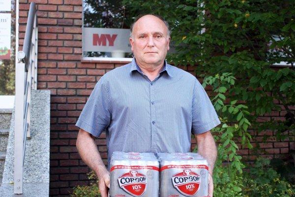 Pre kartón piva Corgoň si prišiel víťaz 9. kola Alexander Kobza z Čechyniec.