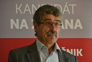 Kandidát na post predsedu Bratislavského samosprávneho kraja (BSK) Milan Ftáčnik.