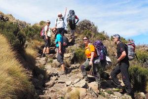 S Anakonda Tours na Mount Kenya