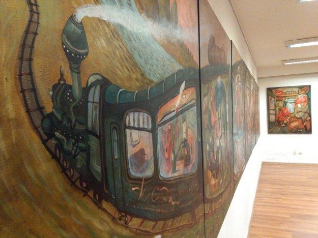 Výstavu si môžete pozrieť vo Zvolene do konca októbra.