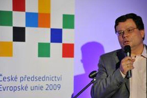 Alexandr Vondra počas prvého českého predsedníctva v EÚ.