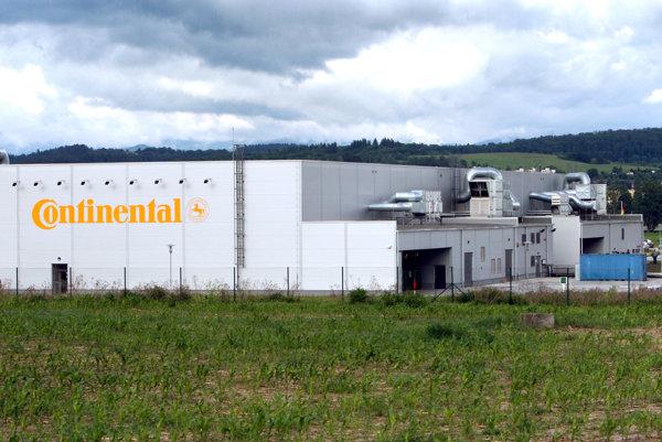 Continental vo Zvolene.