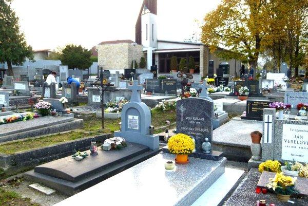 Cintorín vo Vrútkach.