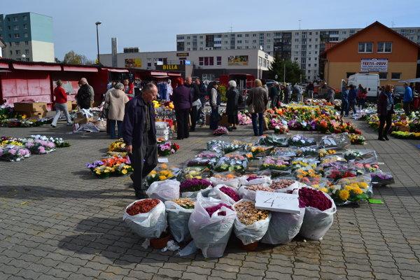 Aj v Prešove už nakupujú. Takto to tam vyzeralo včera.