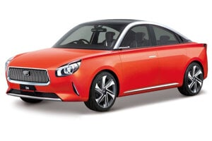 Daihatsu DN Compagno - Štýlové malé kupé berie inšpiráciu pre svoj dizajn od modelu Compagno z roku 1963. Určené je vraj pre aktívnych dôchodcov, ktorí si chcú spestriť život.