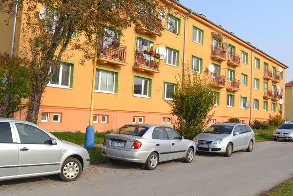Pri bytovkách blízko univerzity. Parkujú nielen domáci, ale i študenti.
