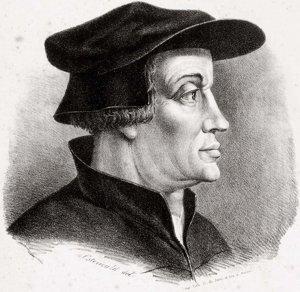 Ulrich Zwingli.