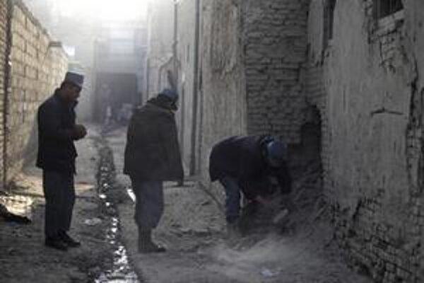V uliciach Kábulu.