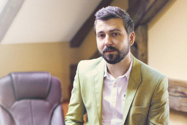 Konateľ personálnej agentúry P.A.MAMUT Bc. Miloš Kovár.