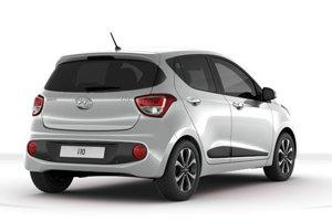 Hyundai v konfigurátore nechce ukázať základnú výbavu i10 a zobrazuje len lepšiu. Základná cena začína pri 7 990 eur.